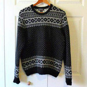 Brooks Brothers Lambswool Fair Isle Sweater